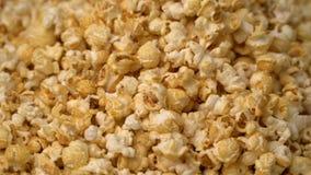 Popcorn roterar rörelsebakgrund lager videofilmer
