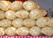 Popcorn For Sale Royalty Free Stock Photos