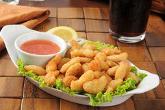 Popcorn shrimp Royalty Free Stock Image