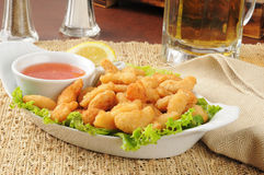 Popcorn shrimp Royalty Free Stock Photo