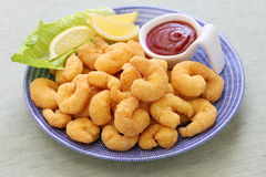Popcorn shrimp Royalty Free Stock Photography