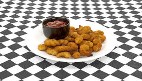 Popcorn shrimp meal Stock Image