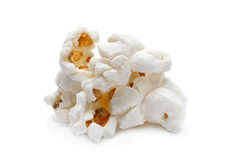 Popcorn snack closeup Stock Images