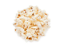 Popcorn snack on white Stock Image