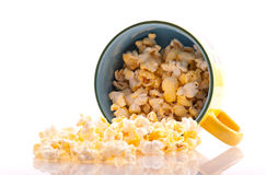 Popcorn Spilling Stock Photos