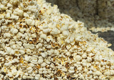 Popcorn stock closeup Royalty Free Stock Photos