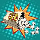 Popcorn sweet and savory corn Royalty Free Stock Photo