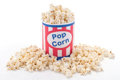 Popcorn take away Stock Photography