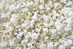 Popcorn texture Stock Photography