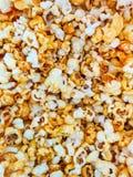 Popcorn texture background Stock Image