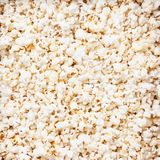 Popcorn texture background Royalty Free Stock Images