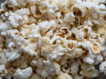 Popcorn texture background royalty free stock photography