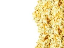 Popcorn texture background Stock Photography