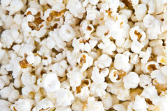 Popcorn texture. A closeup view of popcorn texture royalty free stock image