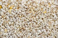 Popcorn texture Stock Image