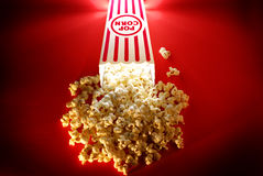 Popcorn from a Theater Movie Snack Royalty Free Stock Photo