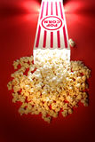 Popcorn from a Theater Movie Snack Stock Photos
