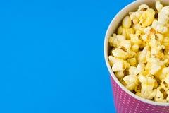 Popcorn in un pacchetto Immagine Stock Libera da Diritti