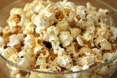 Popcorn in una ciotola Fotografia Stock Libera da Diritti