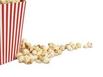Popcorn- und Kastenkopienraum - Archivbild Lizenzfreie Stockfotografie