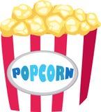 Popcorn vector Stock Image