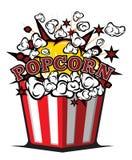 Popcorn. Vector illustrations of the popcorn royalty free illustration