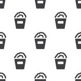 Popcorn, vector seamless pattern Royalty Free Stock Image