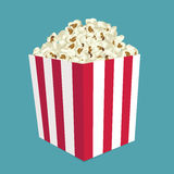 Popcorn vector Royalty Free Stock Image