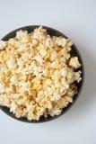 Popcorn voor film vanavond Royalty-vrije Stock Foto