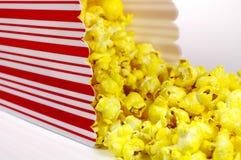 Popcorn-Wanne stockbilder