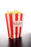 Popcorn on White Royalty Free Stock Photos
