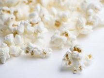Popcorn on White Royalty Free Stock Image