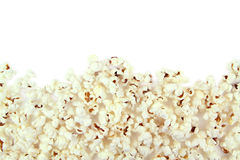 Popcorn on white background Royalty Free Stock Photography