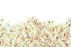 Popcorn on white background Royalty Free Stock Photography