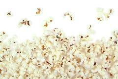 Popcorn on white background Royalty Free Stock Photo