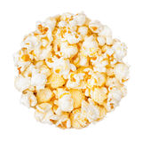 Popcorn. On a white background Stock Images