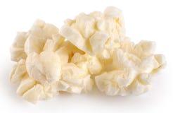 Popcorn  on white background. Royalty Free Stock Photography