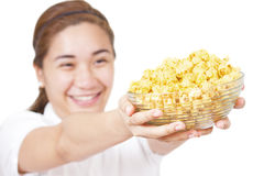 Popcorn For You Royalty Free Stock Image