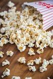 Popcornbehållare Arkivbild