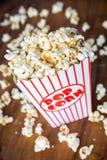 Popcornbehållare Royaltyfri Foto