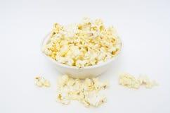 Popcornbolw Royaltyfri Fotografi