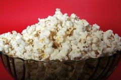 Popcornbunke royaltyfria foton