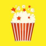 Popcorneimer Lizenzfreie Stockfotos