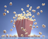 Popcornflyg Arkivfoto