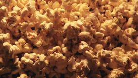 Popcornhintergrund niemand stock video footage