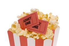 popcornjobbanvisningar Arkivbilder