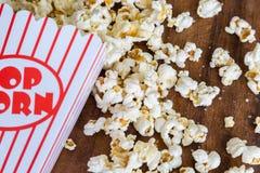 Popcornmellanmål Royaltyfria Bilder