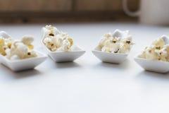 Popcornprövkopior fotografering för bildbyråer