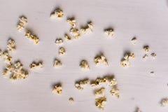 Popcornprövkopior arkivbilder