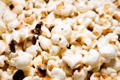 Popcorns macro Stock Photos